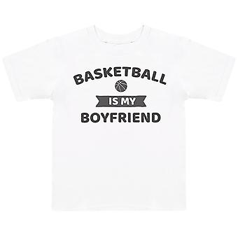 Basketball Is My Boyfriend- Kids T-Shirt
