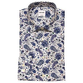 OLYMP Olymp Blue Shirt 1092 54 94