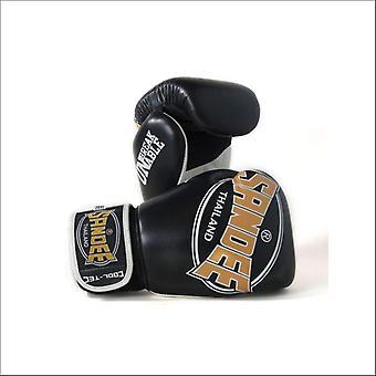 Guanti da boxe Sandee cool-tec muay thai - oro nero-oro