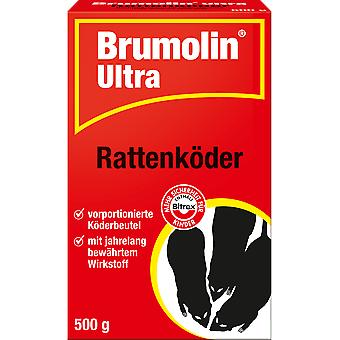 SBM Brumolin® Ultra rat bait, 500 g