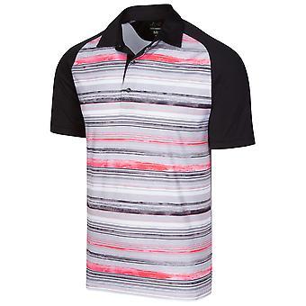 Greg Norman Mens ML75 Magma Moisture Wicking Golf Polo Shirt
