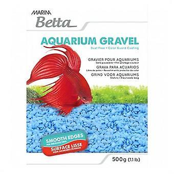Marina Grava Marina Betta Blue 500G (Rybki , Dekoracja , Tła)