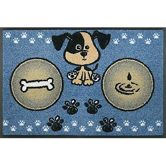 wash+dry doormat dog meal 40 x 60 cm small bowl pad
