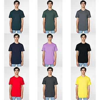 American Apparel Unisex Short Sleeve Crew Neck T-Shirt