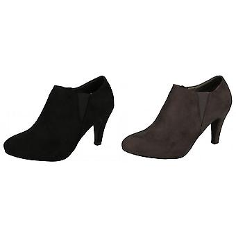Anne Michelle Womens/Ladies Low Cut Ankle Boots