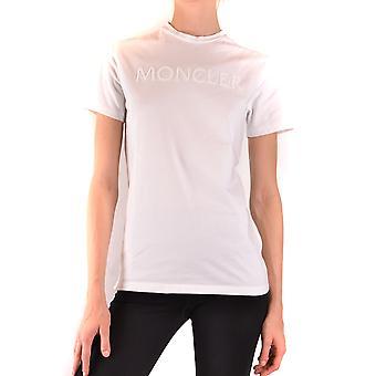 Moncler Ezbc014099 Women's White Cotton T-shirt