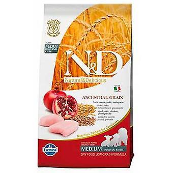 Farmina N&D Low Ancestral Grain Puppy Medium Chicken and Pomegranate