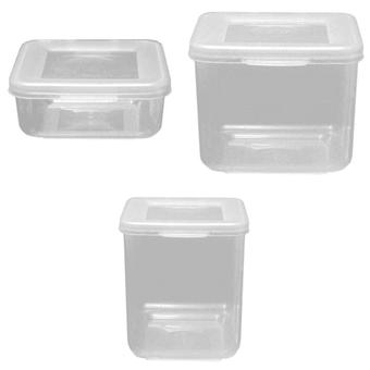 Beaufort Hinged Square Food Container