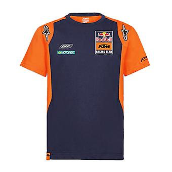 Red Bull KTM Racing Official Teamline Kid's T-Shirt   Navy/Orange