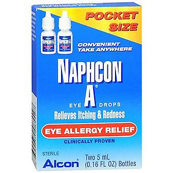 Naphcon-a eye allergy relief eye drops, 0.16 oz