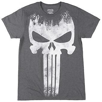 Camiseta de logotipo descolorido de Punisher Giant