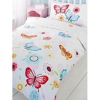 Butterfly Duvet Cover & Pillowcase Set