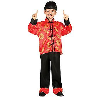 Boys Oriental Chinese Fancy Dress Costume