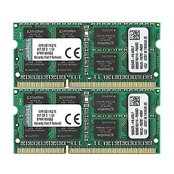 Kingston KVR16S11K2/16 16 GB RAM, 1600 MHz, DDR3, Non-ECC CL11 SODIMM Kit (2x8 GB) 204-pin 1.5 V