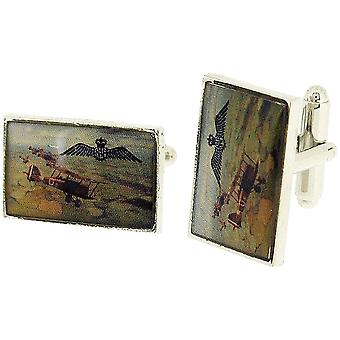 RAF Gents Silvertone Commemoration Collection WW1 Cufflinks RAF309