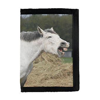 Portefeuille de cheval riant
