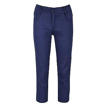 Parlament Blue lässige Stretch Boys Chino Hose