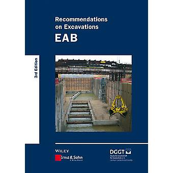 Recommendations on Excavations (3rd Revised edition) by Deutsche Gese