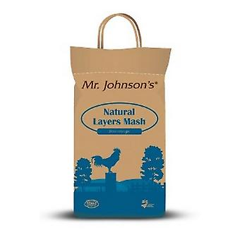 Herr Johnsons Natural Layers Mash Poultry Food