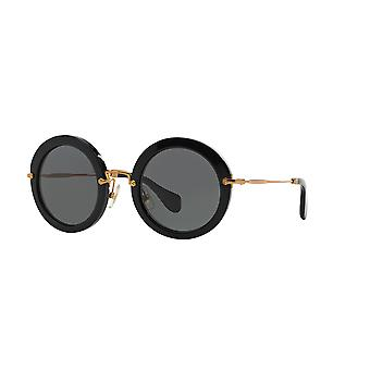 Miu Miu SMU13N 1AB1/A1 BLACK/Grey Sunglasses