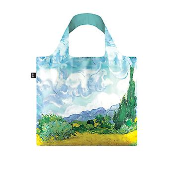 Loqi Women's Vincent Van Gogh A Wheat Field With Cypresses Bag