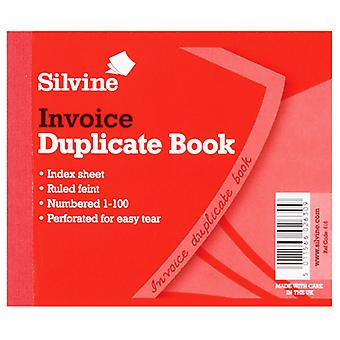 Silvine Small Duplicate Delivery Book Feint 200 Sheets (Pack Of 12)