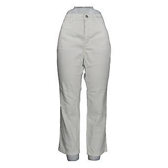 Denim & Co. Women's Petite Jeans Classic Denim White A304477 #1