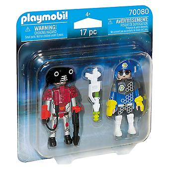 Dolls City Action Space Police And Thief Playmobil 70080 (17 pcs)