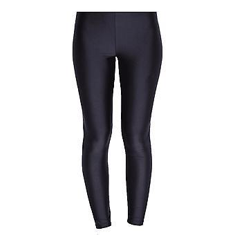Silky Womens/Ladies Shimmer Look Fashion Leggings (1 Pair)
