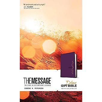 Message Deluxe Gift Bible - Black by Eugene H. Peterson - 97816415812