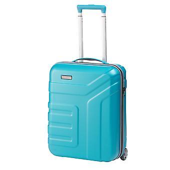 travelite Vector Handbagage Trolley S, 2 hjul, 55 cm, 44 L, turkos