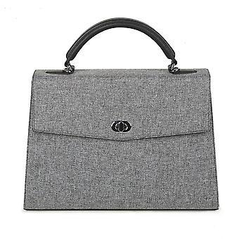 SOCHA Women's Handbag Audrey Tweed 40 cm, Grey