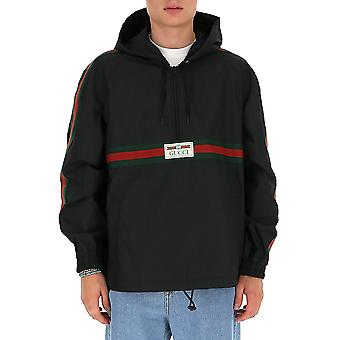 Gucci 594861xdbch1043 Men's Black Cotton Sweatshirt