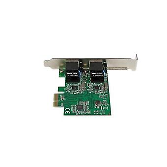 Startech Dual Port Gigabit Pci Express Server Network Adapter Card