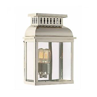Westminster Wall Lamp, Polished Nickel