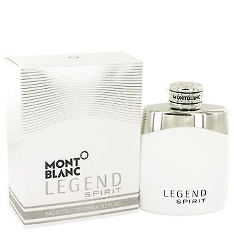 Montblanc Legend Spirit Eau De Toilette Spray By Mont Blanc 3.3 oz Eau De Toilette Spray