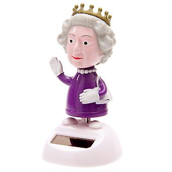 Waving Solar Powered Queen
