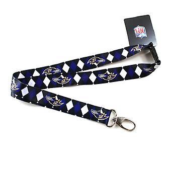 Baltimore Ravens NFL Argyle Lanyard