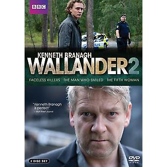 Wallander (Faceless Killers/the Man Who Smiled/the Fifth Woman) [DVD] USA import