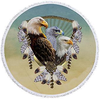 Amerikaanse Eagles Dream Catcher strandlaken
