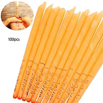Beeswax Ear Candle Wax Removal Tool Ear - Hopi Ear Wax Indian Coning Fragrance Cleaning