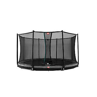 BERG Favorit InGround 330 11ft Trampoline Grey With Safety Net Comfort