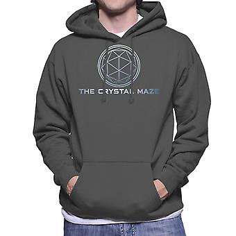 The Crystal Maze Basic Logo Gradient Men's Hooded Sweatshirt