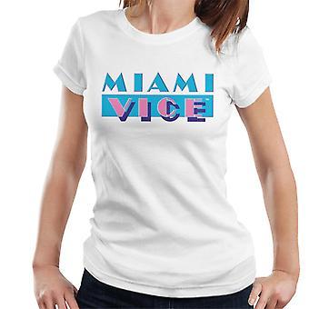 Miami Vice klassieke logo vrouwen ' s T-shirt