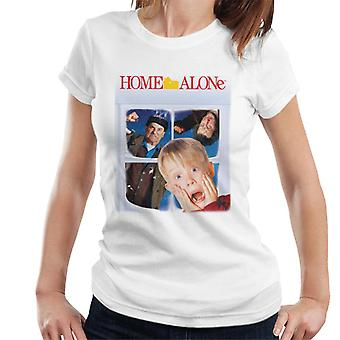 Home Alone Movie Poster Women's T-Shirt