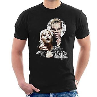 Buffy The Vampire Slayer Spike Scene Men's T-Shirt