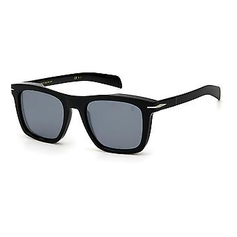 David Beckham DB7000/S 807/T4 Black/Silver Mirror Sunglasses