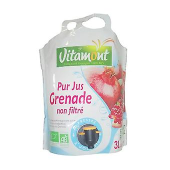 Pure pomegranate juice 3 L
