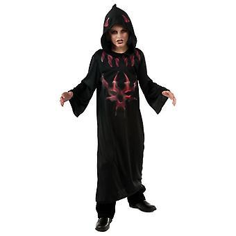 Black/red Devil Robe. Size : Small