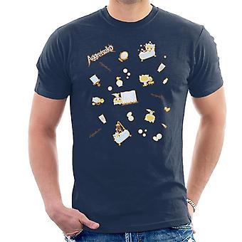 Aggretsuko Retsuko Bath Montage Men''s T-Shirt